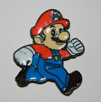 Super Mario Bros. Video Game Mario Figure Metal Enamel Pin NEW UNUSED