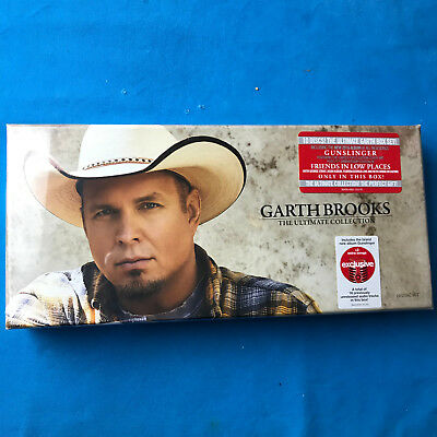 GARTH BROOKS: The Ultimate Collection (CD, 10-Disc Set, 2016) New / Sealed