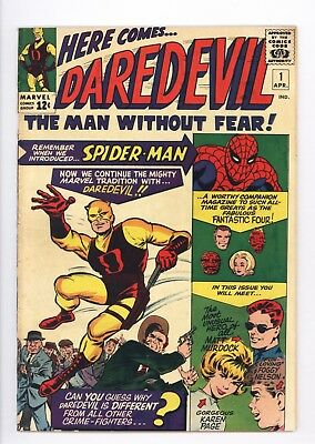 Daredevil #1 Vol 1 Super High Grade 1st Appearance of Daredevil 1964
