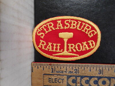 Strasburg Railroad Pennsylvania Travel Souvenir Patch  817TB.