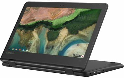 "Lenovo 300e Chromebook, MediaTek MTK 8173C, 4GB RAM, 32GB eMMC, 11.6"" LED,"