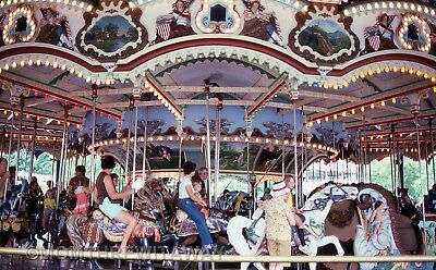 1979 COLOR SLIDE 1636 PA Hersheypark View of Carousel Merry Go Round #2
