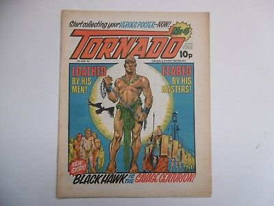 'Tornado' Comic, No.4, 14th April, 1979, includes Heroes Centre Spread.