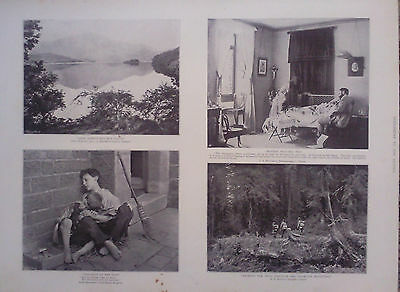 """1895 Print """"the Graphic"""" Amateur Photographic Competition"""