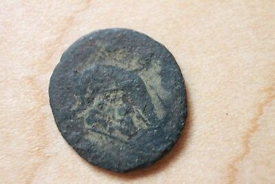 Unidentified Roman Or Greek Empire Bronze Ancient Coin   C-29