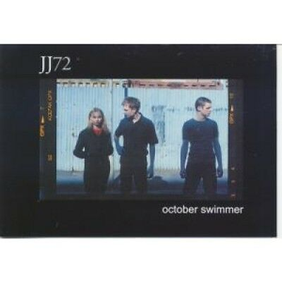 JJ72 October Swimmer CARD UK Lakota 2000 Promo Postcard For New Release On