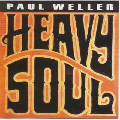 PAUL WELLER Heavy Soul FLYER Japan Polydor Fold Out Promo Flyer