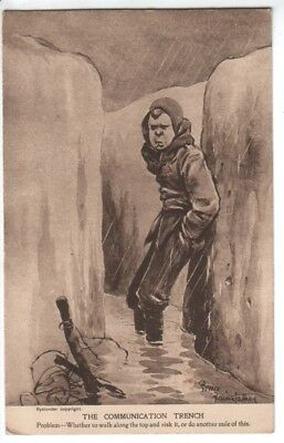 Bruce Bairnsfather - Fragments from France Series 9 - WWI Humour