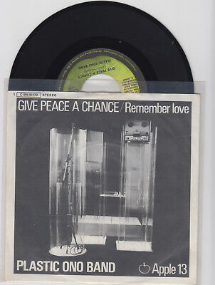 """"""" Plastic Ono Band """"  ---Give Peace a Chance---  -TOP -"""