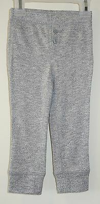 NWT Baby Gap Heather Gray Sweater Knit Leggings Size 12-18 Momth