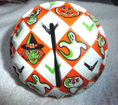 Vintage Halloween Clanger Noisemaker With Outstanding Graphics And Colors