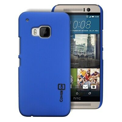 Royal Blue Hard Case for HTC One M9 - Slim Fit Matte Back Phone Cover