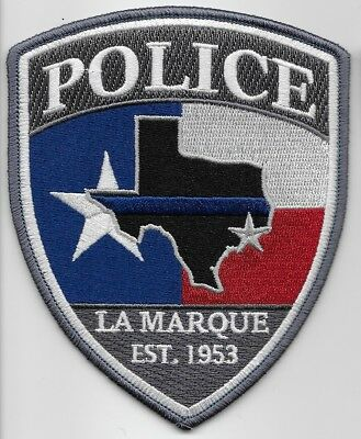 La Marque Police State of TEXAS TX Shoulder Patch