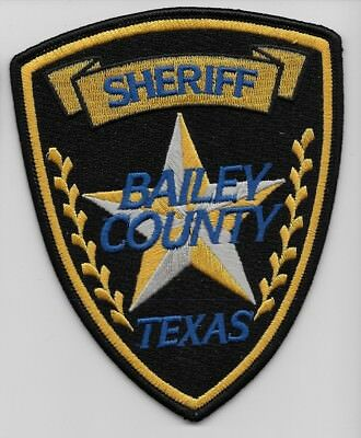 Bailey County Sheriff State of TEXAS TX Shoulder Patch