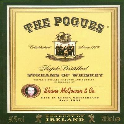 Streams Of Whiskey: Live In Leysin, Switzerland 1991, The Pogues, Very Good CD