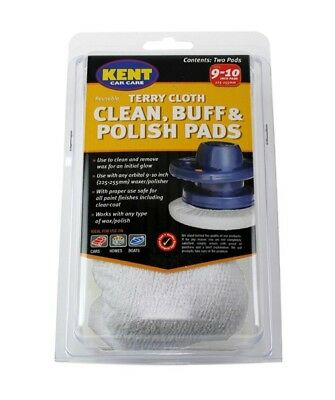 Terry Cloth Polish Pads - Pack Of 2 Q8039 KENT