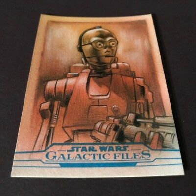 C3Po 2018 Topps Star Wars Galactic Files Sketch Card By Huy Truong