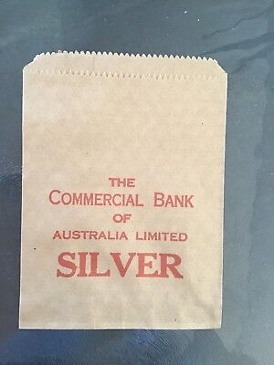 Commercial bank of aust.bank change bag