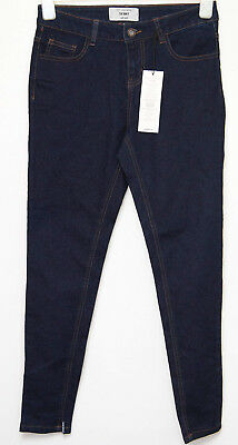 New Look petite skinny jeans size 10 26 inches long in dark blue  tagged