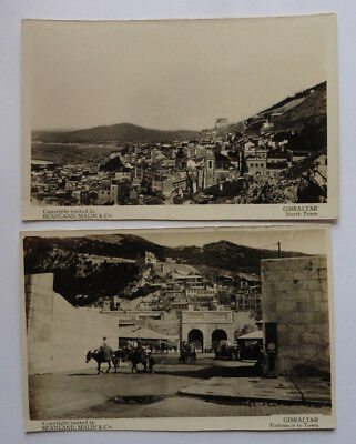 Gibraltar, North Town, Town Entrance, R.P.  Beanland Malin Vintage Postcards.
