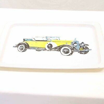 Vintage Willow Australia 1931 Cadillac Car Rectangle Serving Tray#15804
