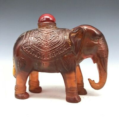 Collect Rare Elephant Snuff Bottles