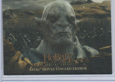 The Hobbit Battle Of The Five Armies - Lot Of 10 Canvas /75 Parallel Cards NM