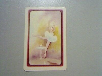 1 Swap/Playing Card - Coles Unnamed Series Ballerinas