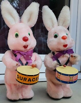 jouets anciens ...Automates...2 Lapins...Duracelle...made in korea...