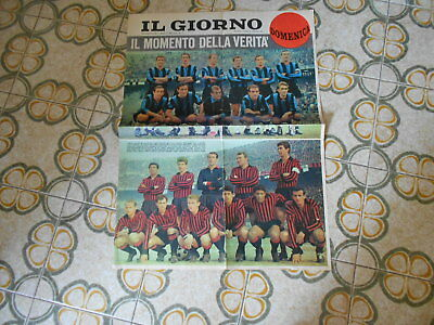 Calcio Supplemento Del Giorno  Nr 56   Atalanta  Milan   7-3-1965