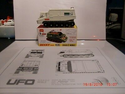 DINKY TOYS 353 UFO SHADO 2 MOBILE GERRY ANDERSON 1970'S TV UFO (in white)