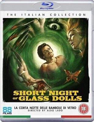 SHORT NIGHT OF GLASS DOLLS (1971) Blu-Ray BRAND NEW Free Ship - USA Compatible
