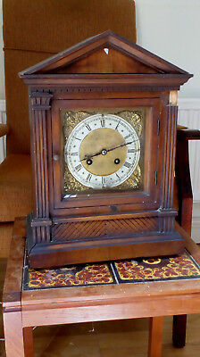 "Beautiful Antique Bracket ClocK DEUTSCHES REICHS PATENT 62975 11""x7""x15.5"" high"