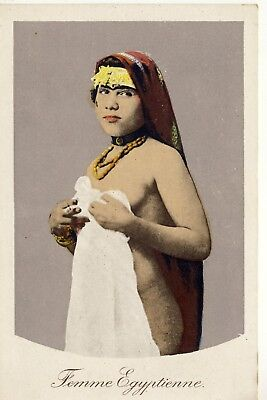Semi Nude Femme Egyptienne Risque Lady