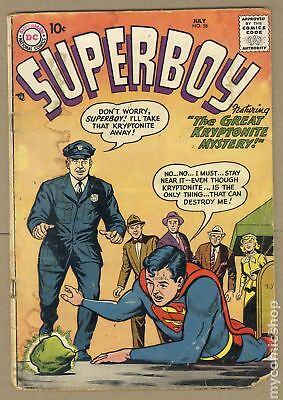 Superboy (1st Series DC) #58 1957 FR/GD 1.5