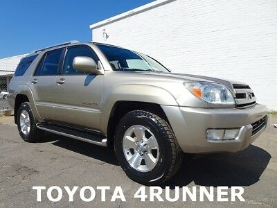 Toyota 4Runner Limited 2003 Toyota 4Runner Limited SUV Used 4.7L V8 32V Automatic 4WD