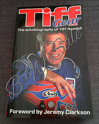Tiff Gear: The Autobiography of Tiff Needell Paperback Book 2012 Top Gear Racing