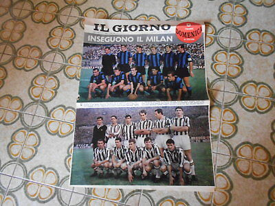 Calcio Supplemento  Del Giorno N 95  27-12-1964   Inter  Juventus
