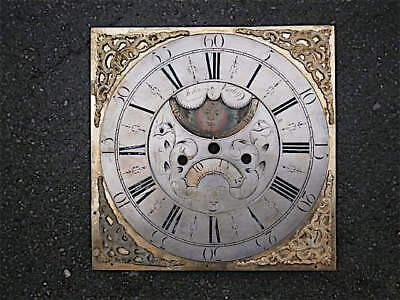12x12 inch  moonphase LONGCASE GRANDFATHER CLOCK brass dial