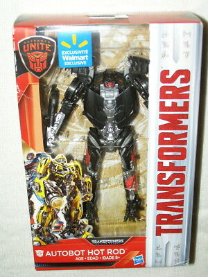 Transformers 2017 Movie The Last Knight Autobot Hot Rod (Deluxe Class) MISB
