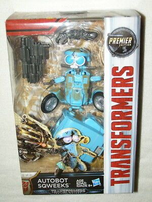 Transformers 2017 Movie The Last Knight Autobot Sqweeks (Deluxe Class) MISB