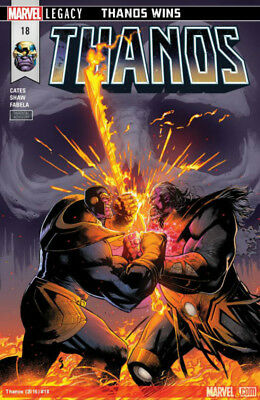 Thanos #18 Marvel Legacy Thanos Wins! Donny Cates Geoff Shaw Guardians 41118