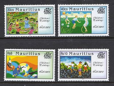 Mauritius 1994 Children's Games and Pastimes - MNH set - Cat £3 - (15)