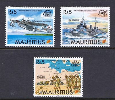Mauritius 1995 Anniversary of End of Second World War - MNH - Cat £6 - (26)