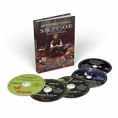 Jethro Tull - Songs From The Wood 40th Anniversary 3 CD 2 DVD + 96 Page Book