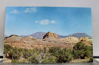 Utah UT Devils Castle Circle Cliffs Capitol Reef Lodge Postcard Old Vintage Card