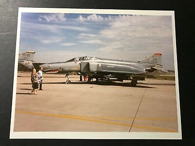 Mcdonnell Douglas Produced F-4 Phantom Photo Gem Mint