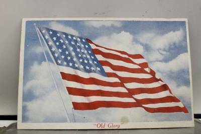 United States of America American Flag Old Glory Postcard Old Vintage Card View