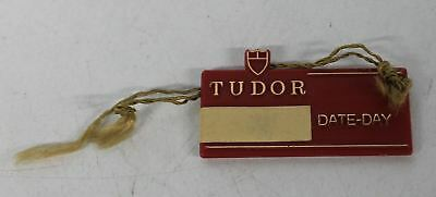 Collectible Day & Date Hang Tag From Vintage Rolex Tudor 7017 Jumbo Watch