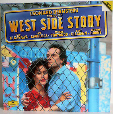 2 Lp  Leonhard Bernstein Conducts West Side Story - Dgg 415 253-1 Digital Record